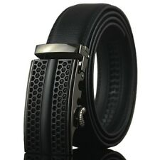 New Fashional Casual Automatic Buckle Mens Waistband Real Genuine Leather Belts