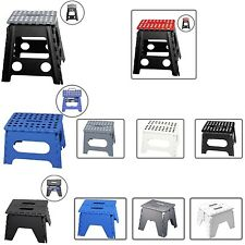 NEW MULTI PURPOSE FOLDING STEP STOOL EASY STORAGE FOR HOME KITCHEN GARAGE