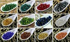 Silver Lined Czech Glass Seed Beads 6/0 PRECIOSA Rocaille Spacer 4mm