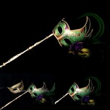 Stick Masquerade mask set birthday bachelor School Prom company mardi Gras Party