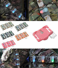 6Pcs FMA Paintball MOLLE System 6 Colors Light Vest LED Signal Strobe for DEVGRU