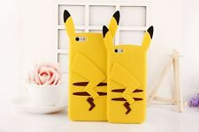 For iPhone Samsung Huawei Soft Case Pikachu Pokemon Cartoon Silicone Cover Shell
