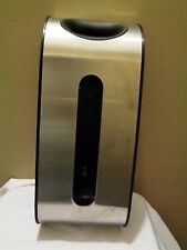 Simplehuman Stainless Steel Wall / Cabinet Mount Grocery Bags Dispenser Holder
