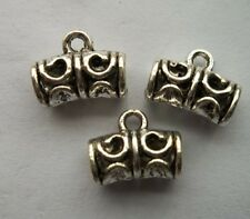 free Shipping 30/60 Pcs Tibet silver Hollow out Charms pendant 9x 11.5mm