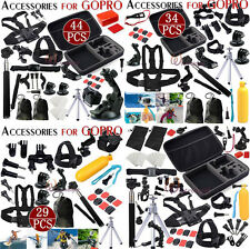 Head Chest Mount Floating Monopod Accessories Kit For GoPro 2 3 4 Session Camera