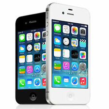 Apple iPhone 4S 8GB Black or White Factory Unlocked Smartphone - Warranty