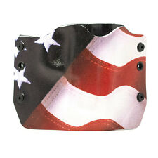 Glock, Red, White and Blue, OWB Kydex Gun Holsters