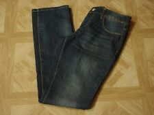 Faded Glory Women's Straight Leg Blue Jeans Size 6 Tall,  8 Average