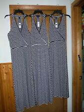 Sleeveless Maxi Dresses GAP Navy Striped size LG,SM,XS NWT