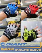 (H) 2015 Giant Cycling Bicycle Bike Sport Half Finger silicone gloves MTB Gel