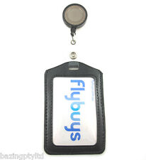 Retractable ID Badge Card Holder Office Business Reel Strap Lanyard Security Tag