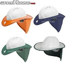 Brand New Snap Brim Hat- Rigid Sunshade For Hard Hats- VARIOUS COLOURS