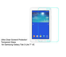 "For Samsung Galaxy Tab 3 Lite 7"" VE Ultra Clear/Tempered Glass screen protector"