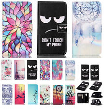 Flip PU Leather Wallet Cards Slot Stand Protective Cell Phone Case Cover Skin