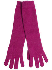 JOHNSTONS OF ELGIN 100% CASHMERE Women's Long Gloves - Made in Scotland
