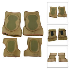 Military Neoprene Elbow Knee Pads SET Airsoft Paintball Army Military Tactical