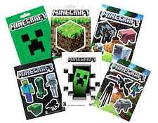 Minecraft Stickers Birthdays Favors Gifts Room Decor Choose from Multiple Styles