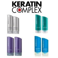 Keratin Complex Hair Care Shampoo and Conditioner Pack Range (400ml)