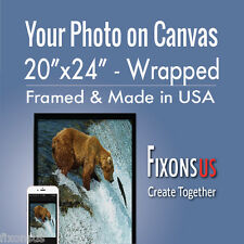 """Custom Gallery Wrapped Canvas, Your Photo on Canvas Print - 20""""x24"""""""