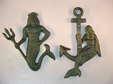 Finely Detailed King Neptune or Mermaid Or Buy Both & SAVE!, antique, vintage