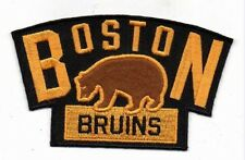 "WINTER CLASSIC BOSTON BRUINS EMBROIDERED JERSEY PATCH 3 7/8"" QUANTITY DISCOUNT!"