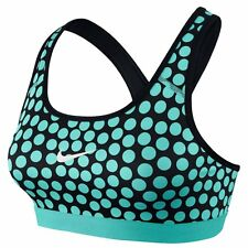 NIKE PRO WOMENS DRI-FIT CLASSIC DOT SPORTS TRAINING TOPS BRA #708023-NWT