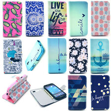 Card Holder Wallet Flip Leather Case Cover Housing Protector For New Cell Phone