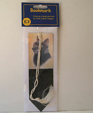 Cat Bookmark - BLACK CAT BOOKMARK  by UK artist  * 9 Images To Choose From *
