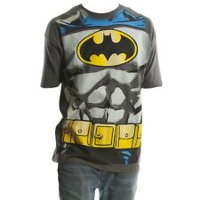 Batman Muscle Shield Belt Print Design Costume Tee Shirt NWT Adult Sizes
