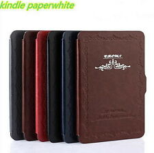 Vintage leather Case for All Amazon Kindle Paperwhite 3 2 1 Gen Ebook Cover XT