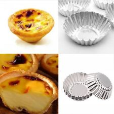 """Aluminium Cake Egg Cookie Baking Pastry Mold 7cm/2.76"""" Tart Mould Metal Perfect"""