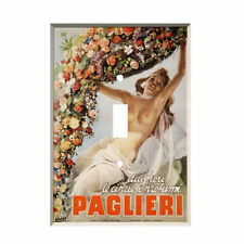 Italian Paglieri Light Switch Cover Light Switch Plate Vintage Ad Boccasile