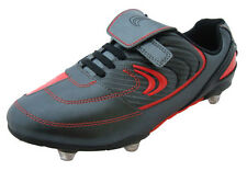 Clarks ARTISTRY Black LEATHER FOOTBALL Boots Inf 11-12.5 F & G Fit Track UK Del