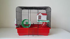Hamster Mouse Cage Tube House 100ml Water Bottle Wheel Animals Rat Gerbil Mouse