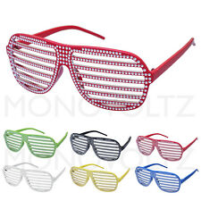 Full Shutter Glasses Club Dance Party Sunglasses Hip Hop Fashion Shades