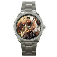 NEW Wrist Watch Stainless Jesus Christ Shepherd Catholic Christian