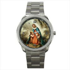 NEW Wrist Watch Stainless Holy Mary Children Catholic Christian Collection