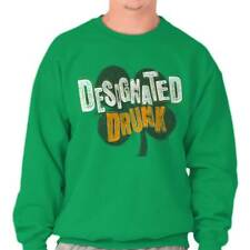 Drinking Party St. Patricks Day Beer Irish Drunk Funny Humor T Sweatshirt