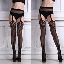 Hot Womens Sexy Lingerie Racy Net Stockings Lady Lace Thigh-highs Pantyhose Gift