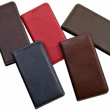 Luxury Genuine Leather Flip Case Cover For Apple iphone 6 plus  Hand Made Korea