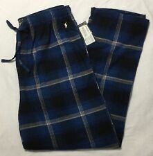 POLO RALPH LAUREN Mens Flannel Pajamas Sleepwear Lounge Pants  M L XL MSRP $38