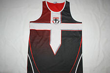 AFL New St Kilda Saints Youth Kids Training Singlet, size 10 12