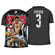 AFL St Kilda Saints Kids Youth Player and Number T-Shirt Tee,  size 6
