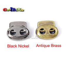Plastic Cord Lock Stopper Bean Toggle Clip for Sportswear Shoelace