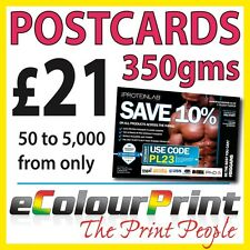 Postcards / Flyers / Leaflets, 350gms Board Printed Full Colour A5, A6, A7