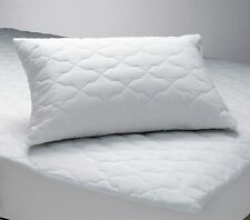 4 Quilted Zipper Pillow Protectors Poly/Cotton Standard Queen King MADE IN USA