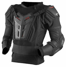 EVS Mens Black/Red Comp Suit Dirt Bike Armored Jacket MX ATV
