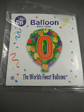 "Birthday By Age - 18""/45cm Helium Foil Balloon"