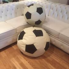 Faux Leather Football Multi Colour Designer Bean Bag Game Chairs