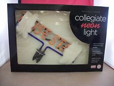 Boise State Broncos Collegiate Table Top Neon Light  - Plug Into an ElectricOut